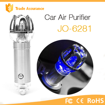 New Launched 12V Car Electrical Ionic Air Purifier JO-6281 ( CE,FCC,ROHS )