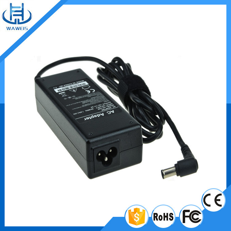 Desktop connection ac dc power adapter 15v 5a 75w laptop charger with 2 years warranty