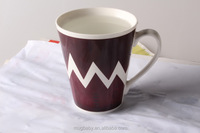 China supplier wholesale porcelain sublimation coffee mug