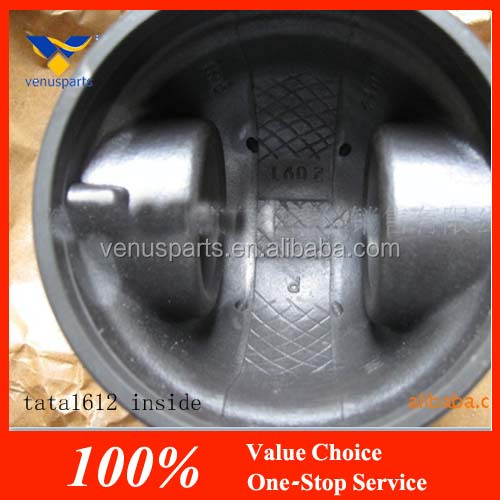 high quality tata spare parts for 1612 engine piston