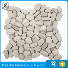 Interior Decoration Materials Pebble Stone Mosaic