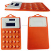 Cheap Pocket Flexible Solar Silicone Calculator