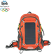 internal frame outdoor sports 2L hydration fast charging 7W solar power backpack