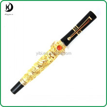 HCH-R678 hot design jinhao heavy metal china dragon roller ball pen with clip