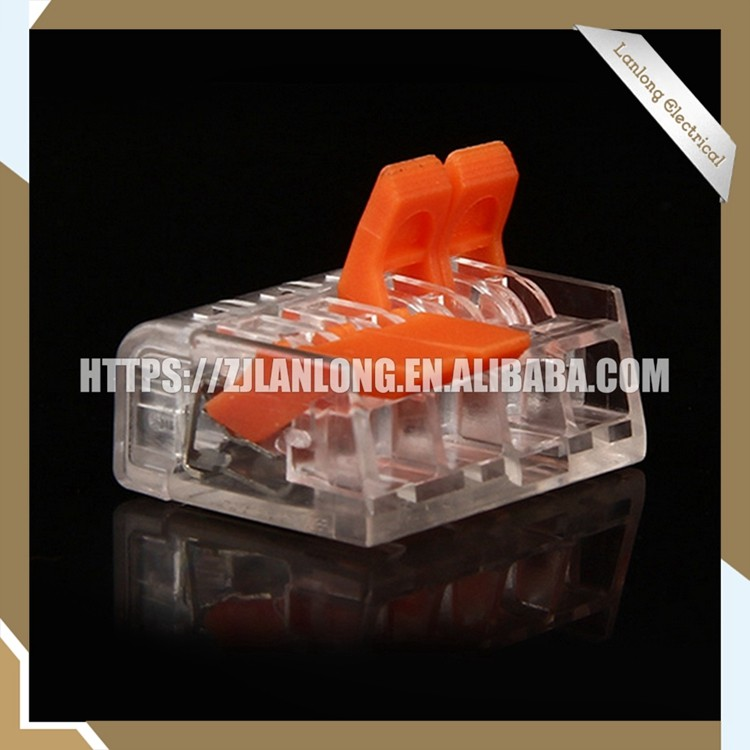 New style lighting quick wire connector replace Wago type 221 4p