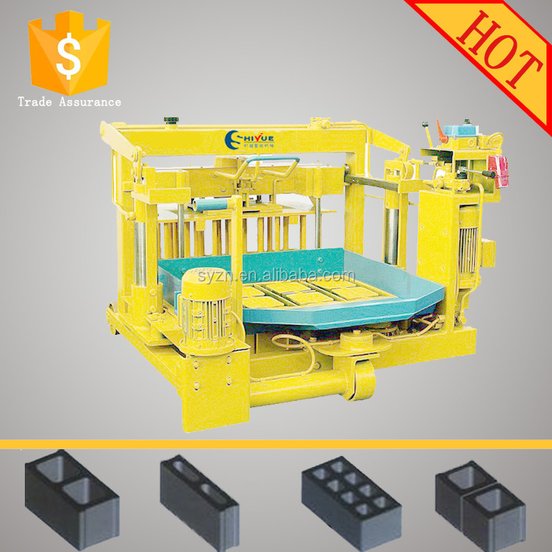 QMY4-30 small scale concrete block making machine concrete roof tiles machine south africa