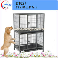 professional manufacturer pet crate double dog cage