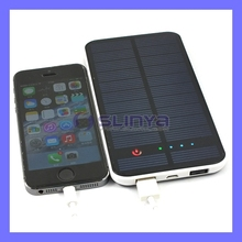 Dual USB 12000mAh GPS Solar Charger Mobile Phone Battery Charger