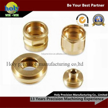 customized high precision small metal fashion accessories parts with cnc services