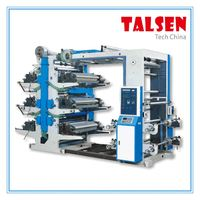 YT series multi-color flexo printing machine with cheap price