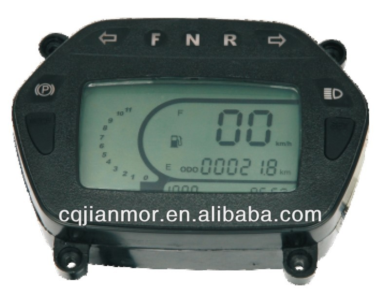 LCD display digital meter for motorcycle/ATV/UTV speedometer for 175cc ATV