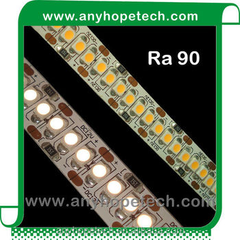 19.2w 240leds per m high CRI long life led commercial rope lighting
