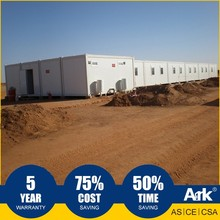 Ark Top Quality Good Price Long Lifespan Flatpack Prefabricated Steel municipal field Mobile Camps