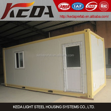 2016 high quality container van house for sale in philippines