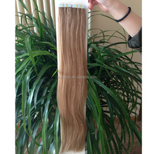 Hot in US &Australian market!!! Virgin hair mongolian tape hair ali trading double drawn tape hair online market