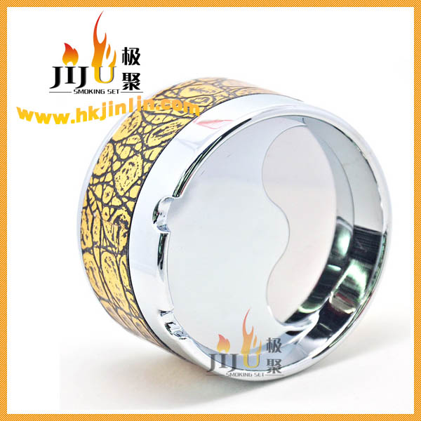 Beautiful and Colorful JL-038S Zhejiang Cool Factory Metal Ashtray
