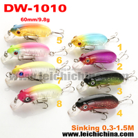 New type frog lure hard body bait fishing lures