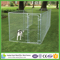 large portable chain link fence iron dog cage for sale