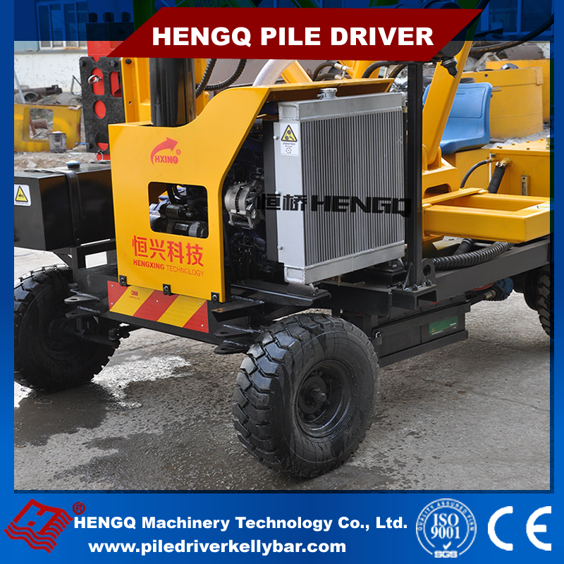 Manufacturer For Road Fence Impacting and Drilling Used Sheet Pile Driver Machine