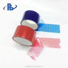 Customize <strong>adhesive</strong> for tamper evident non transfer tapes anti tamper seals for bags