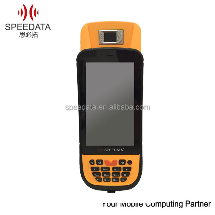 Data Collector Handheld Finger Scanner (SIM Card slot ,Phone call features,GPRS/GSM/3G ,GPS positioning)