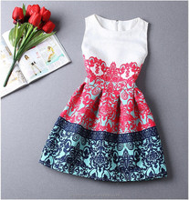 2015 New Summer Style Women <strong>Dress</strong> <strong>Casual</strong> Mini O-Neck Sleeveless Short A Line <strong>Dress</strong> Party Evening Elegant Summer <strong>Dress</strong> Plus Size