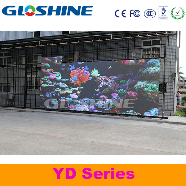car led message display screen outdoor shopping mall led display screen