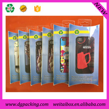 Printing Clear Plastic Cell Phone Case Packaging Box&custom packaging for cellphone