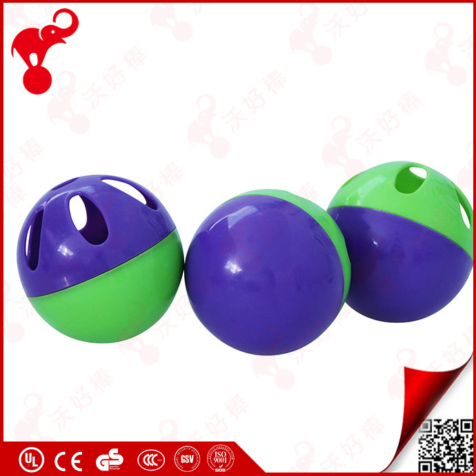 hot sale 2017 plastic toy kids wiffle baseball children color plastic pp material hollow rubber toy ball