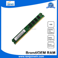 Computer component part non ecc unbuffered desktop ram ddr3 4gb memory