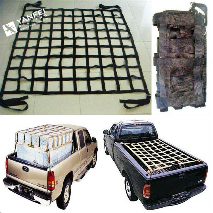 Webbing Cargo Net for Interior Truck and Trailer