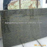 Good surface chinese potoro black 3 thick marble slabs