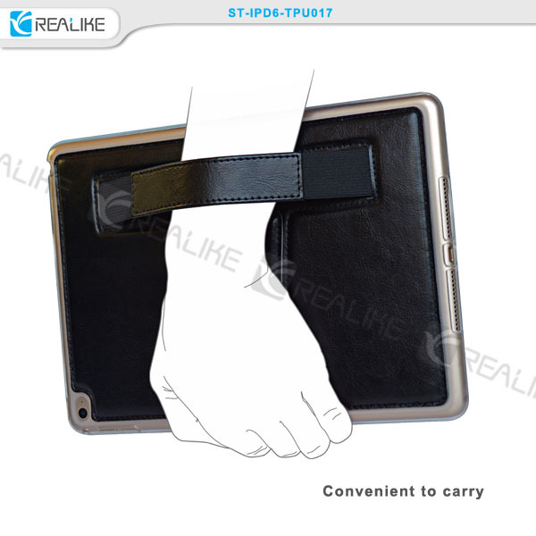 Newest Products genuine leather case for apple ipad air
