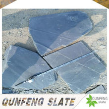 natural cheap black slate large stepping stones