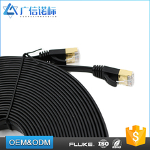 High twist 4 pair 3m utp cat6 Patch Cord flat ethernet cable