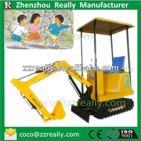 More Fun Shopping mall amusement kiddie rides coin operated excavator for children