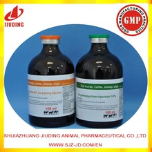 Veterinary medicine for cattle Oxytetracycline Injection LA 20%