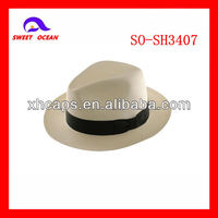 wholesale straw panama hats(SO-SH3407)