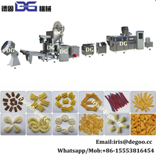 French frying machine puffed snacks food processing machine CE Made in China
