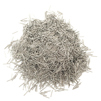 0.2-0.6mm Size Magnetic Tumbler Pins 200g Each Size Stainess Steel Magnetic Pins Jewelry Polishing Media Needles