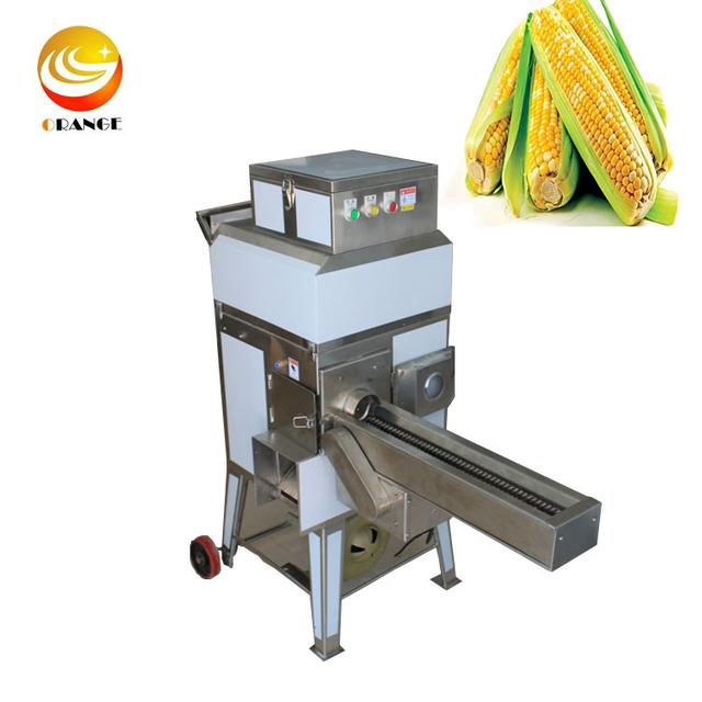 Agriculture Sweet Corn Threshing Machine Fresh Corn Thresher