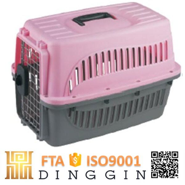 Hot selling plastic dog flight airline carrier
