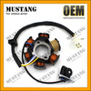 2017 Best Selling Motorcycle Electric Parts 2-8 Poles C70 C80 C90 C100 Magneto Stator Coil