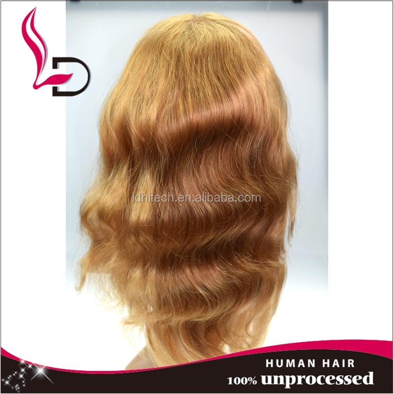qingdao new products top grade unprocessed wholesale remy hair finger wave wig