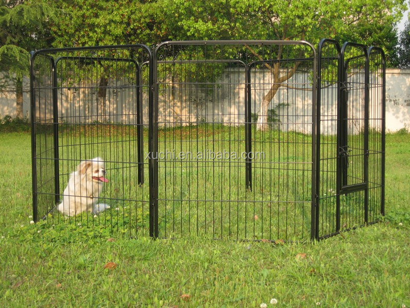 Supply Black Pet Club Heavy Duty Pet Play and Exercise Pen with 8 panels