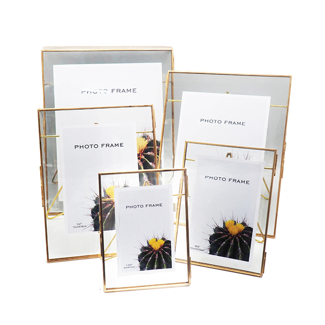 PF-1066 Wholesale free glass paper frames for photos
