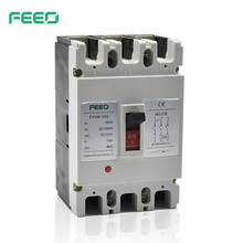 FPVM Intelligent electric Photovoltaic 3 phase moulded case circuit breaker dc mccb