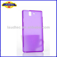 Confirmed 100% Fit High Quality Matte TPU Gel Silicone Case Cover for Sony Xperia L S36H