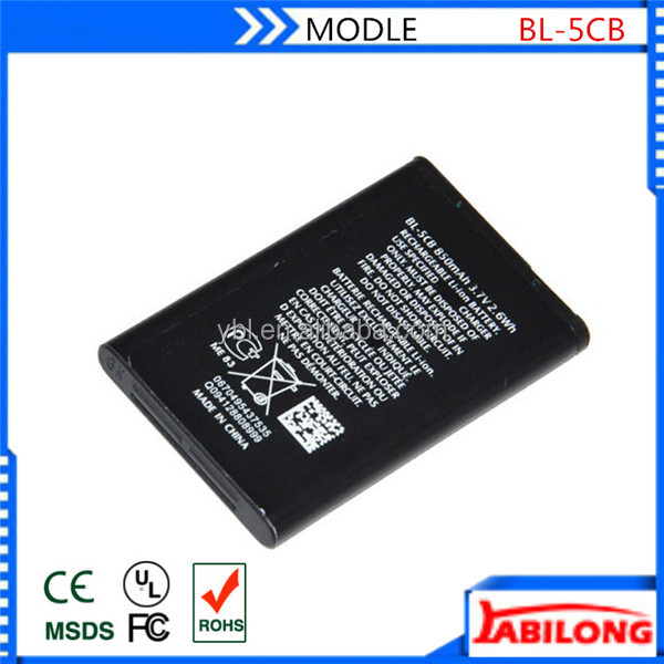 shenzhen phone battery for nokia 107 108 2730c N72 N91 8G 1100 1108 1110 1112 1116 1200 1208 1255 1681C 1600 1650 1680c