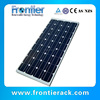 Highly efficient high quality 80W monocrystalline Solar panel